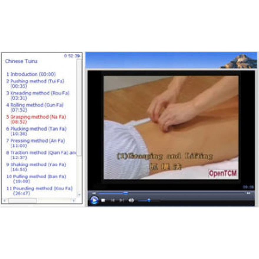 2.1 Chinese TuiNa Anmo - Ärztliche Massage klinisch demonstriert - Download TCM Video Kurs Schulung